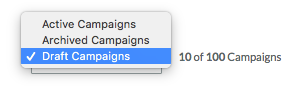 draft campaigns