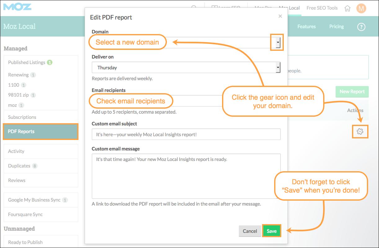 edit local pdf reports