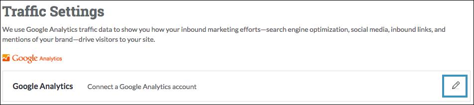 add google analytics to moz pro
