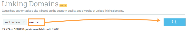 start linking domains