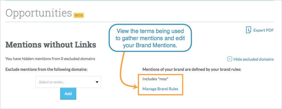 brand mentions