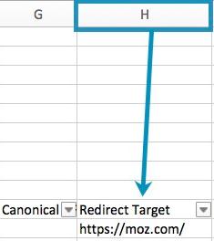 target redirect