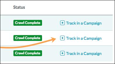 track in a campaign